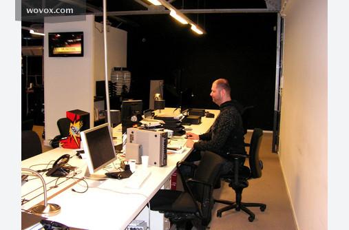 Martijn Boomsma hard at work