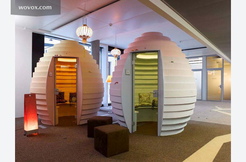 google office cubicles. a new sort of cubicles google office o