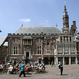 Het stadhuis van Haarlem aan de grote markt