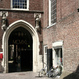 Ingang van het stadhuis