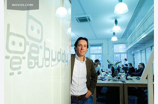 JJ Rueb, CEO and co-founder, opening you the doors to eBuddy