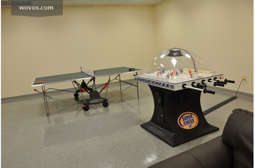 Table Tennis and Super Chexx at the Breakroom