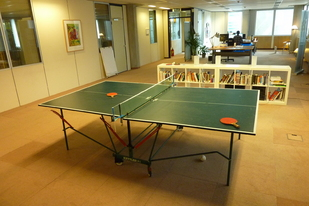 A table tennis table: Great! ...But is it?