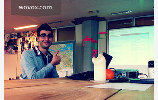 Awesome presentation by Orkun about improving search on WOVOX!