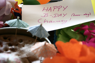 Happy B-day Chanury!
