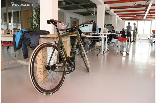 Wouter's fixed-gear bike